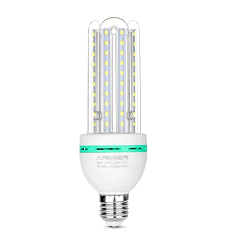 Bombilla LED E27 de 20 W (equivalente a 150 W de lámpara LED),