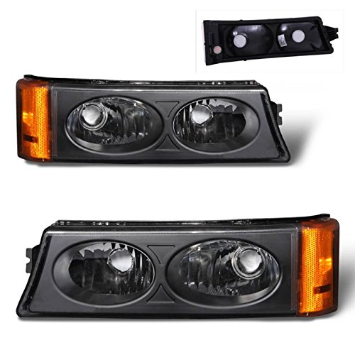 SPPC Black Parking Lights For Chevy Silverado - (Pair)