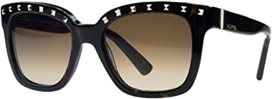 Valentino Women/'s VA2013 VA//2013 3002//71 Gold//Black Pilot Sunglasses 58mm