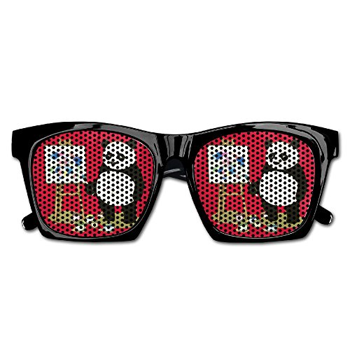 Xing Stars Colorful Summer Unisex Panda In Painting Fashion Party Costume - Firefighters Sunglasses Discount For