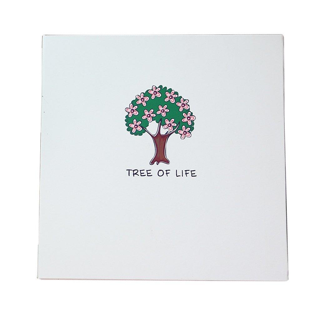 Álbumes de fotos de Bricolaje Tipo Álbum Autoadhesivo Página Interior Álbum Tipo de Familiares Amantes Hecho a Mano pequeño árbol Creativo Cubierta Blanca Memorial de los niños Regalos Baby Booklet e30a8f