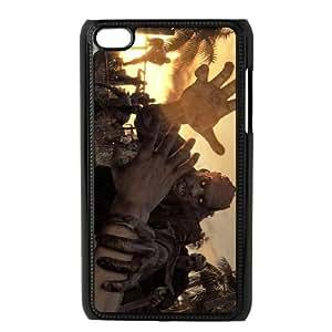 iPod Touch 4 Case Black Dying Light 001 Vjxsu