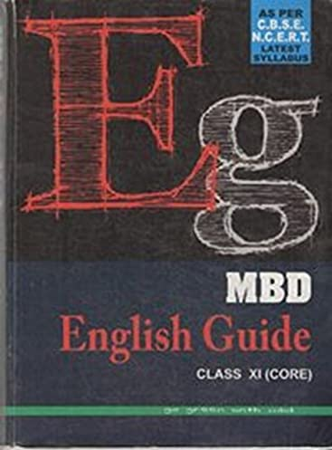 amazon in buy mbd english guide class xi core book online at rh amazon in mbd english guide for class 12 mbd english guide for class 12 pdf