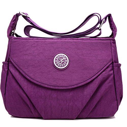 Tracolla Purple Borsa Moonbuy A Donna F8PpqaRqf