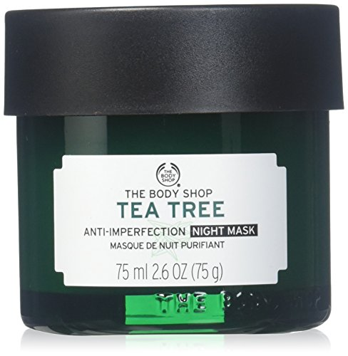 Body Masque - The Body Shop Tea Tree Anti-Imperfection Night Mask, 2.6 Fl Oz (Vegan)