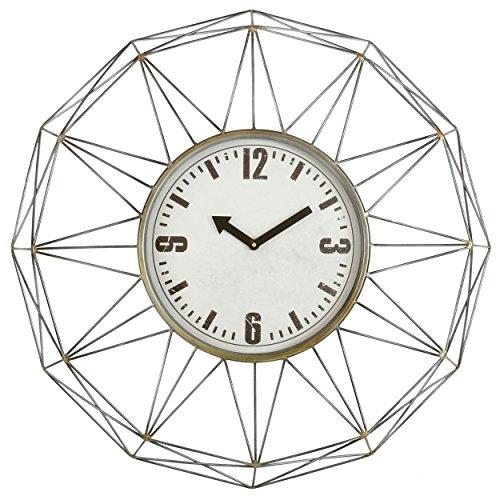 Aspire 4806 Kaylin Metal Wall Clock, Gray 51TBTSdCPsL