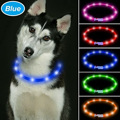 Vizbrite Collar Rechargeable Flashing Silicon