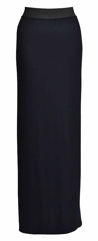 GUBA Ladies Gypsy Plain Long Jersey Maxi Dresskirt