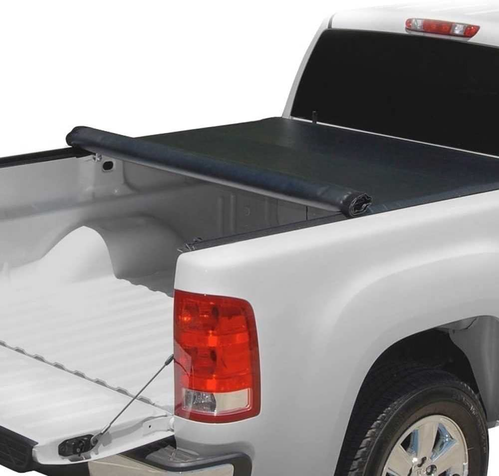 Prime Choice Auto Parts TC603329 6.5ft Bed Rubber Sealed Lock /& Roll Up Soft Tonneau Cover
