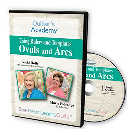 Quilter's Academy Using Rulers and Templates, Ovals and Arcs (Ovale Shop)