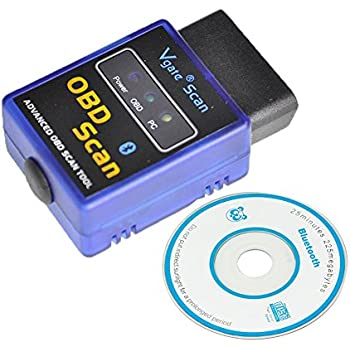 Excelvan v1.5 Bluetooth Mini Small Interface OBD2 Scanner Adapter Torque Android