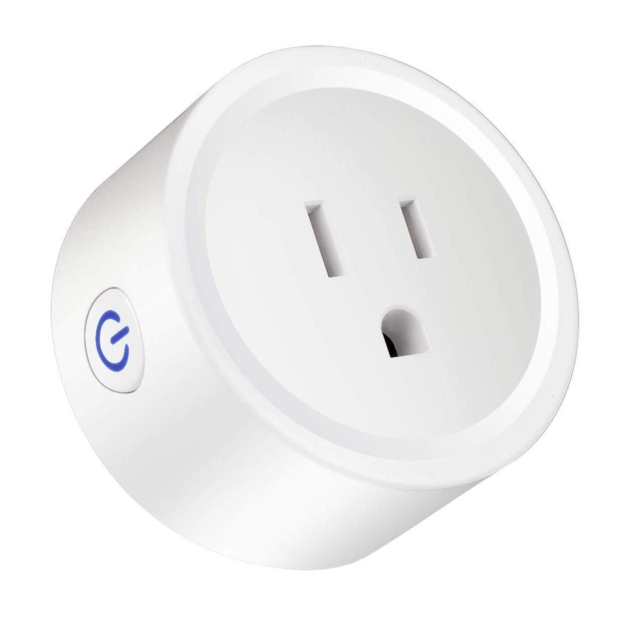 [Upgraded Version] Mini Smart Plug socket 2 pack Wifi Smart Outlet Switch Timer Work with Amazon Alexa Echo Dot Google Home/Assistant IFTTT No Hub Required Control Your Electric Devices from Anywhere