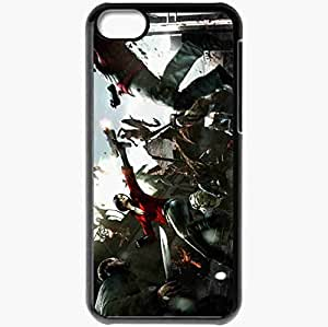 Personalized iPhone 5C Cell phone Case/Cover Skin Resident Evil 6 Black by icecream design
