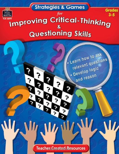 improve critical thinking games Fun critical thinking activities - for students in any subject by monica dorcz | this newsletter was created with smore, an online tool for creating beautiful newsletters for for educators, nonprofits, businesses and more.