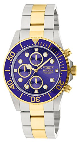 Invicta Men's 1773 Pro Diver 18k Gold Ion-Plating and Stainless Steel - Edge Diver Coin Invicta