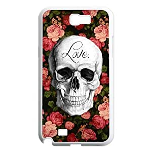 lintao diy case Of Artistic Skull Customized Bumper Plastic Hard Case For Samsung Galaxy Note 2 N7100 Kimberly Kurzendoerfer