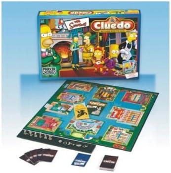 Hasbro Simpsons Cluedo: Amazon.es: Juguetes y juegos