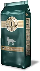 Real Performance 10 Kg - Dog food with salmon flavor