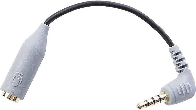 Cable Adaptador de conector TRS (Hembra) de 3.5mm a TRRS (Macho ...