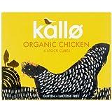 Kallo - Organic Chicken Stock Cubes - 66g