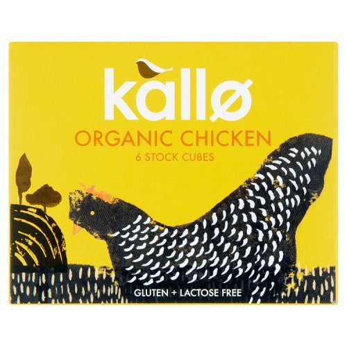 Herb Stock Cubes (Kallo - Organic Chicken Stock Cubes - 66g)