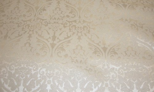 Vinyl Fake faux leather Pearl Embossed Damask Home decor sofa chair Upholstery Drapery Fabric sold Per Yard 55