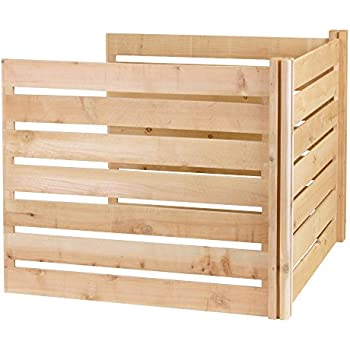 Greenes Fence Add-On Cedar Wood Composter Kit