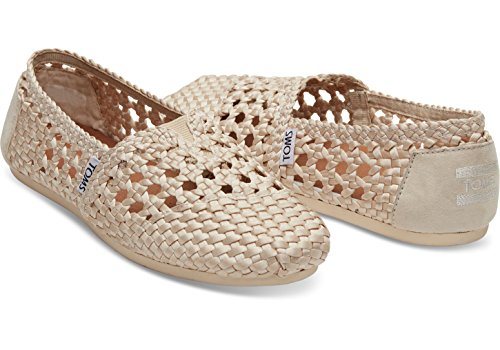 TOMS Womens Woven Classics Whisper Satin Woven 2 Loafer 7y58Jzvp