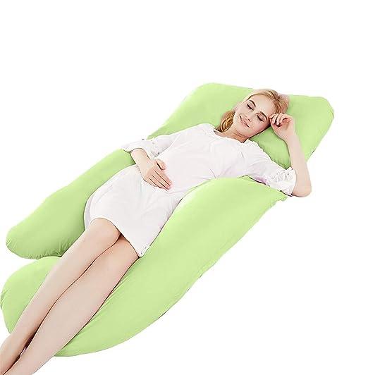 LXQGR Cojín en Forma de U cojin Embarazada Maternidad ...