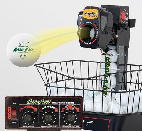 Newgy Robo-Pong 1040+ Table Tennis Robot by Newgy