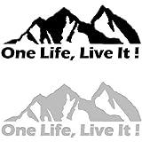 Matt Schwarz One Life Live It Aufkleber Vinyl Terra Nomade