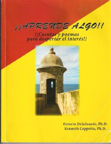 APRENDE ALGO (CUENTOS Y POEMAS PARA DESPERTAR  EL INTERES)