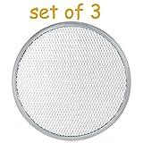 Aluminum Pizza / Baking Screen, Seamless, Commercial Grade, Aluminum, (12'')