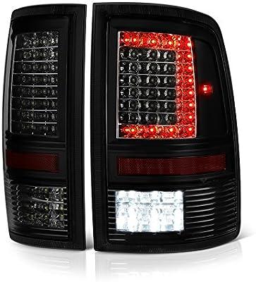 VIPMOTOZ C-Shape Full LED Tail Light Lamp For 2009-2018 Dodge RAM 1500 on
