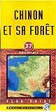Plan de ville : Chinon et sa forêt
