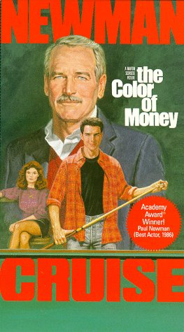 Amazon.com: The Color Of Money [VHS]: Paul Newman, Tom Cruise, Mary ...