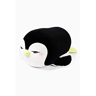 Justice Violet The Penguin Jumbo Squishmallow: Toys & Games