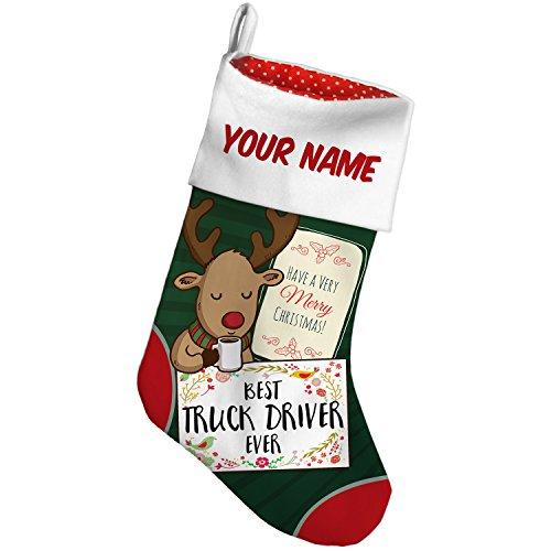 Driver Christmas Stocking - 1