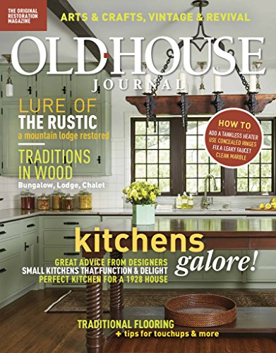 Magazines : Old House Journal