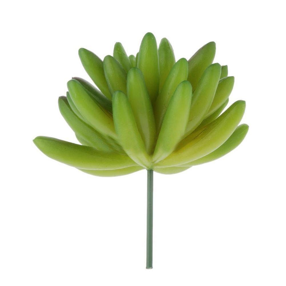 Fake Foliage Artificial Real Touch Succulent Plant DIY Flower Arrangement Decor