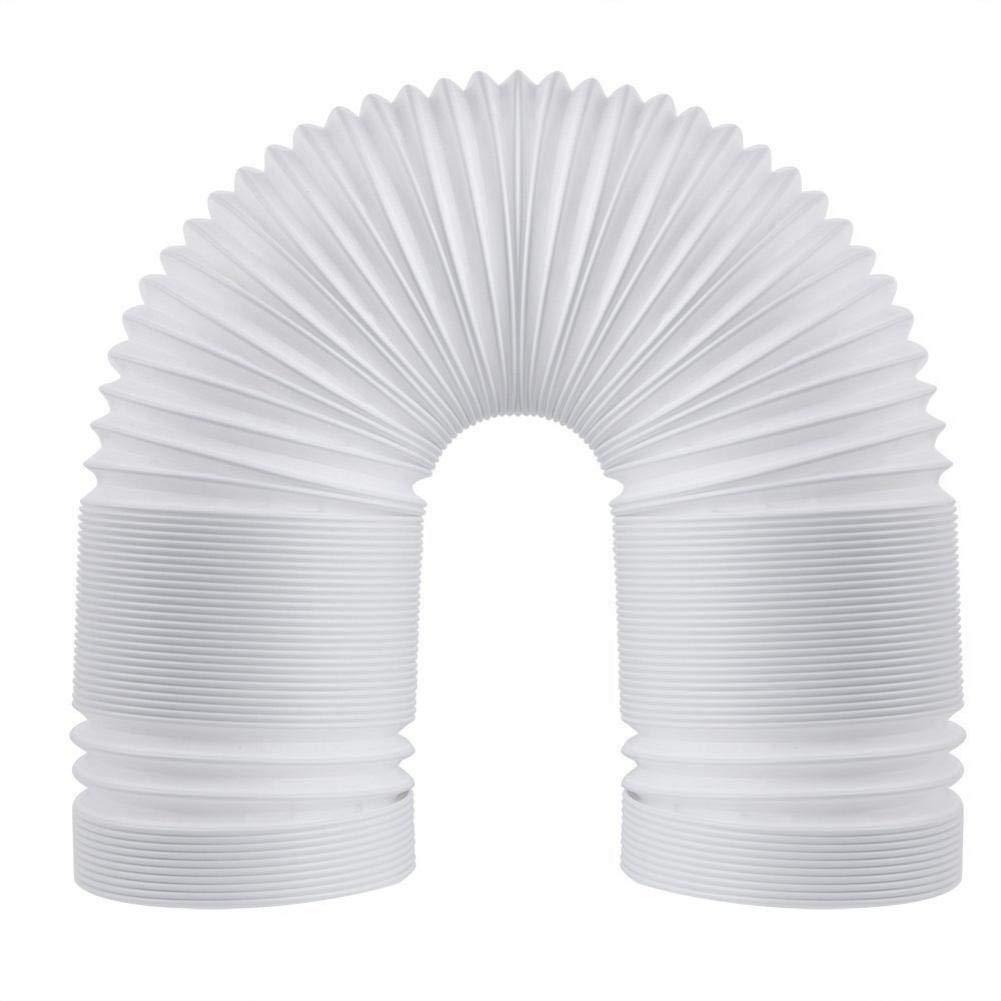 Tubo di Scarico per Aria condizionata Tubo Universale di Ricambio AC 1.5 Meters in Diameter 15cm Tubo di Scarico Portatile esteso Hete-supply con Filettatura in Senso antiorario
