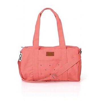 Amazon.com   Victoria s Secret Pink Mini Duffle Bag   Cosmetic Tote Bags    Beauty
