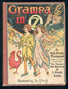 Hardcover Grampa in Oz. (First State, First Canadian edition) Book