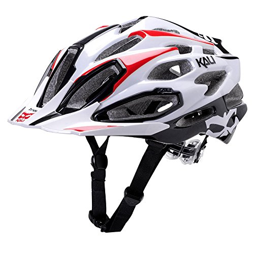 Kali Protectives Maraka XC Helmet Core Black/Red, M/L [Misc.]
