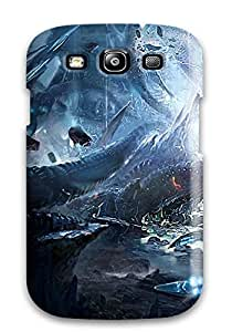 Galaxy S3 Hard Back With Bumper Silicone Gel Tpu Case Cover Tera