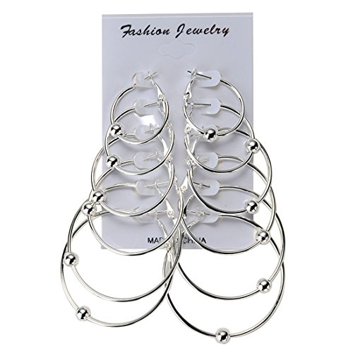 IBLUE Jewelry Womens Silver Earrings