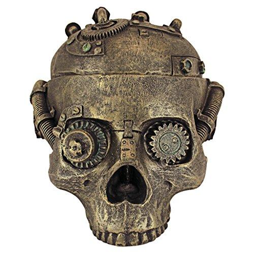 (Design Toscano Steampunk Skull Containment Vessel)