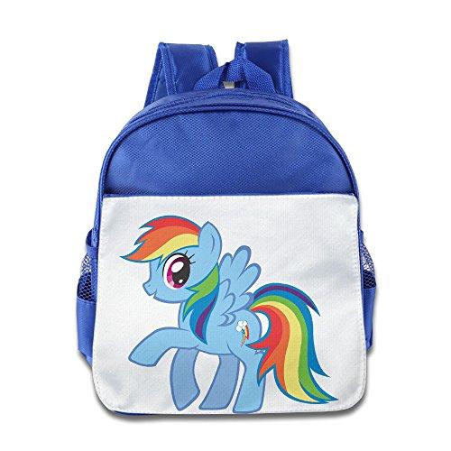 My Little Pony Rainbow Kids RoyalBlue School Bagpack Bag For 1-6 Years (Partysaurus Rex Costume)
