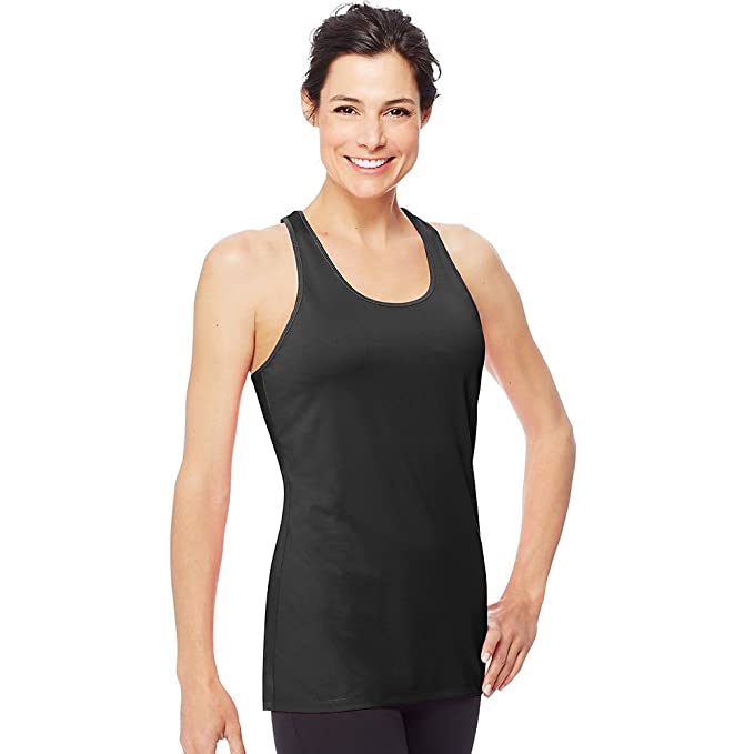 c79470e4e404c Image Unavailable. Image not available for. Color  Hanes Sport Women s  Performance Stretch Tank
