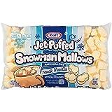 Kraft Jet Puffed Snowman Mallows French Vanilla Marshmallows, 8 oz.